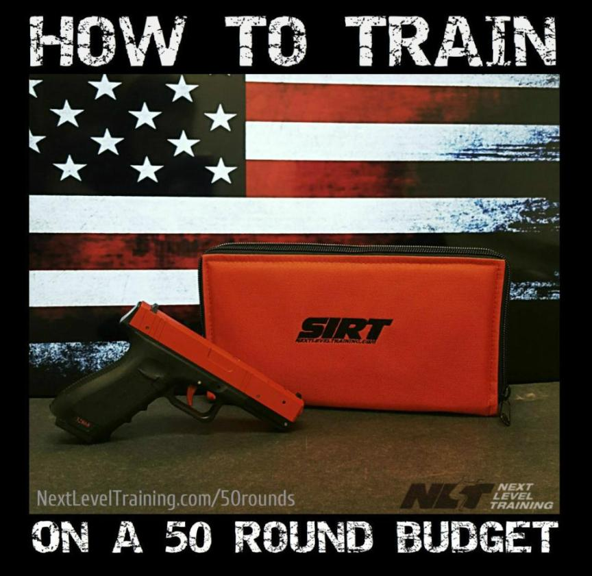 Training Session on a 50 Round Budget
