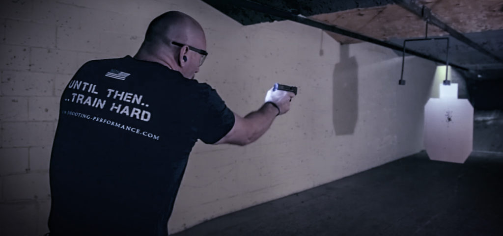 Michael Seeklander executing a low light live fire drill